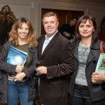 Andreas Manessis of Manessis Travel with Christina Stavroulia and Vicky Gogou of Exodos Travel.