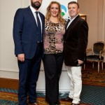 Katerina Mousbeh of MidEast Travel with Aggelos Lambrou and Andreas Manessis of Manessis Travel.