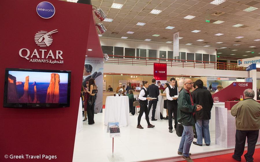 Sungard Exhibition Stand Qatar : Qatar airways introduces middle eastern hospitality to