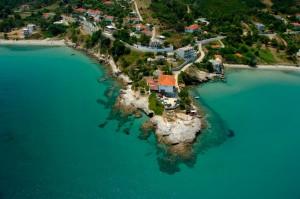 Thassos island, Kinira bay.