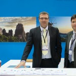 Alexander Messaris, managing director of HETCO Tours (left).