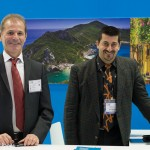 Meli Tours' managing director, Dimitrios Melikokis, and commercial manager, Samolis Angelos.
