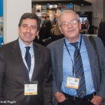 Navigator Travel & Tourist Services President & CEO Andreas Stylianopoulos with Hellenic Association of Airline Representatives President Dinos Frantzeskakis.