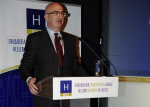 Hellenic Chamber of Hotels President YiorgosTsakiris. Photo source: Hellenic Chamber of Hotels