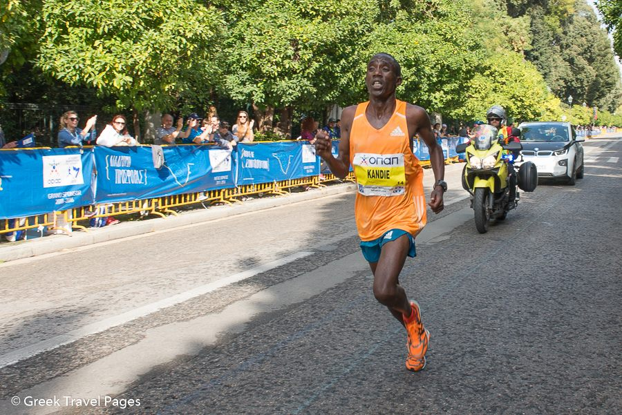 "Felix Kandie: Winner of 32nd ""Athens Marathon. Τhe Authentic""."