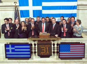 Archive photo of 15th Capital Link Greek Investor Forum.