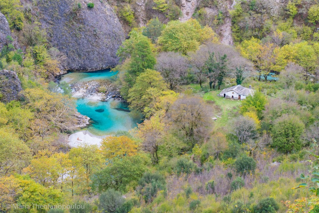 Voidomatis River from above