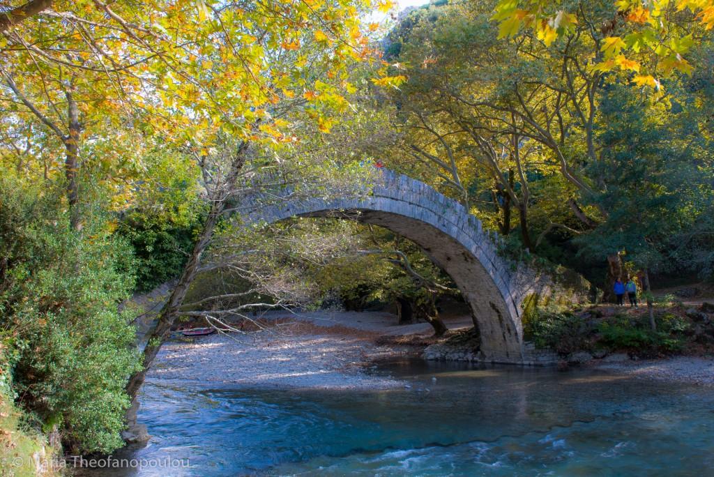 Paliogefyra (or old bridge), Voidomatis River