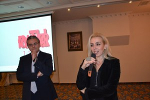 The new travel package that aims to simultaneously boost the conference and cultural side of Thessaloniki is an initiative of Yiannis Aslanis, manager of the Mediterranean Palace hotel and Kiriaki Oudatsi, director of the Olympic Museum.
