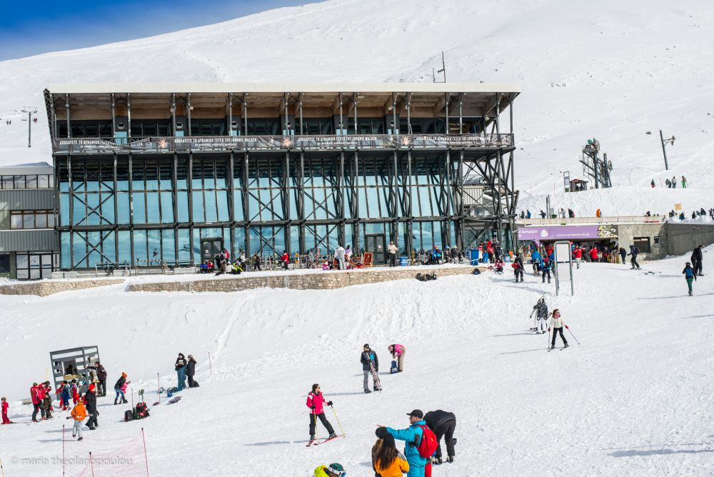 Parnassos Ski Center - Kellaria site. Photo © Maria Theofanopoulou