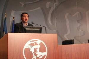 SYRIZA leader Alexis Tsipras. Photo source: ITN News