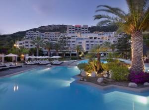 The Sheraton Rhodes Resort.