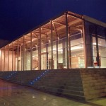 Thessaloniki Olympic Museum, main facade