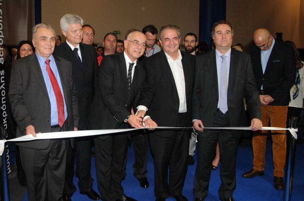 Ribbon-cutting ceremony of the 1st Greek Tourism Expo. Photo source: Leaderexpo. Photographer: Paterakis