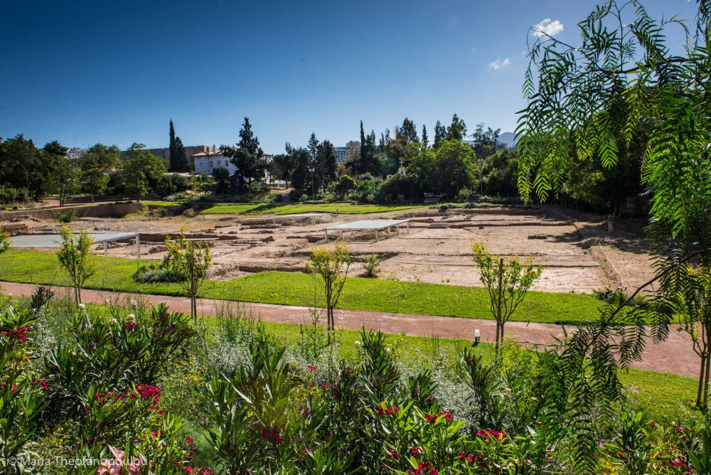 Archaeological site of Aristotle's Lyceum in Athens. Photo © Maria Theofanopoulou