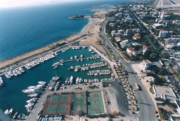 Marina in Glyfada. Photo source: Glyfada Municipality