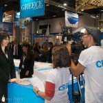 Alternate Tourism Minister Elena Kountoura talks to Travel Channel
