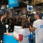Alternate Tourism Minister Elena Kountoura talks to Travel Channel