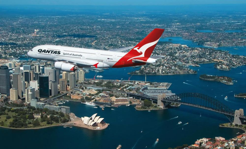 Australian airline Qantas has once again topped the list of the world's safest airlines. Photo © Qantas