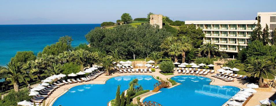 Sani Beach Hotel, Halkidiki.