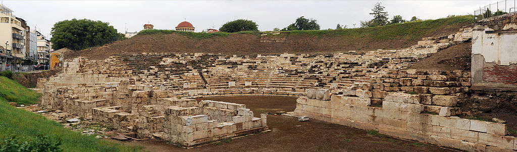 Ancient Theater of Larissa. Photo source: Wikimedia Commons