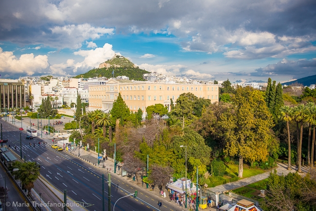 Constitution square (Syntagma), Athens.
