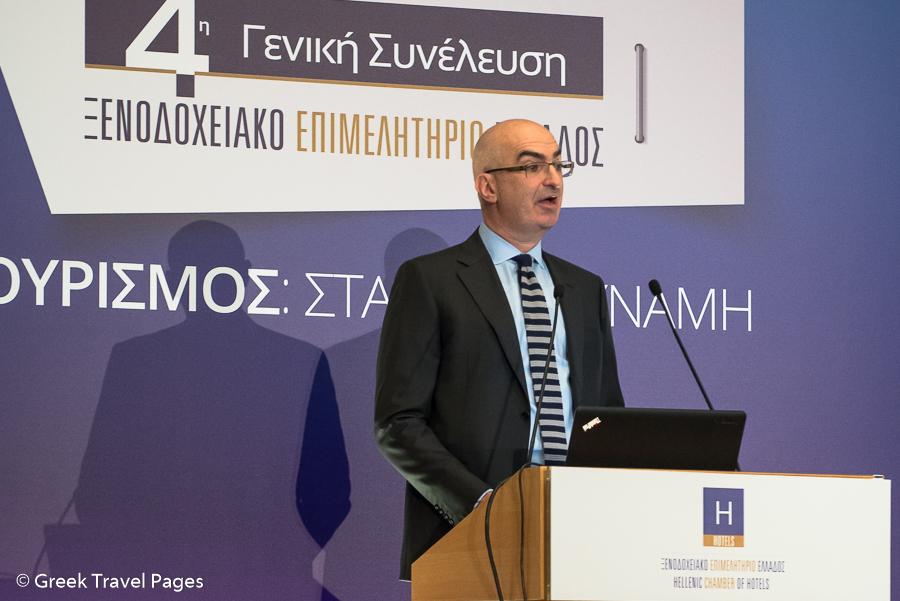 Hellenic Chamber of Hotels President YiorgosTsakiris.