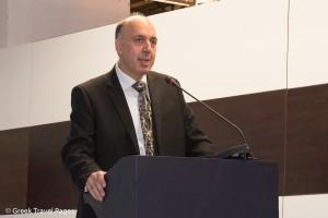 Dimitris Antonakos, founder of the 100% Hotel Show's organizing company Demand Customize Marketing.