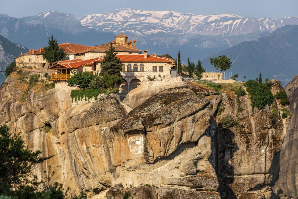 Moni Agias Triados, Meteora. Photo © Andrei Pop / Shutterstock