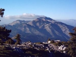 A Parnonas mount panoramic view. Photo © Hellenic Jimny Club