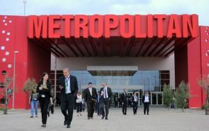 The Metropolitan Expo center.