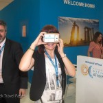 "Experiencing the Greek Virtual Reality Project (GVR) ""Google Cardboard"" of the Municipality of Hersonissos."