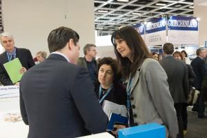 Alternate Tourism Minister Elena Kountoura and Angela Varela from GNTO at ITB Berlin 2015