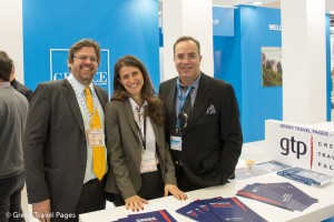 ITB Berlin 2015 Greek Travel Pages stand
