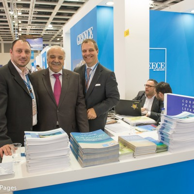 ITB Berlin 2015 1st day Ionian Islands Stand