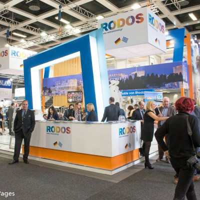 ITB Berlin 2015 Rhodes Stand