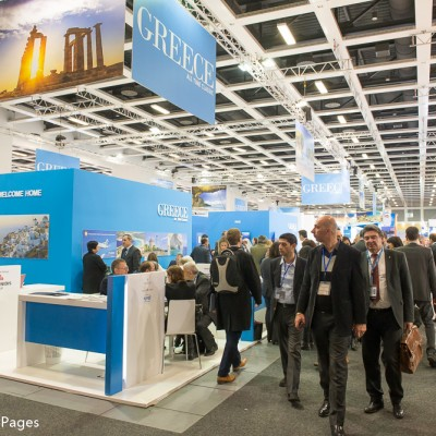 ITB Berlin 2015 busy 2nd Day at the Greek stand