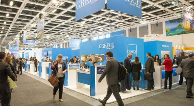 ITB Berlin 2015 2nd day at the Greek Stand