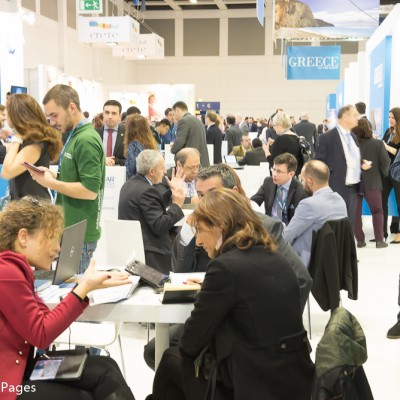 ITB Berlin 2015 another busy day for travel professionals at the Greek stand