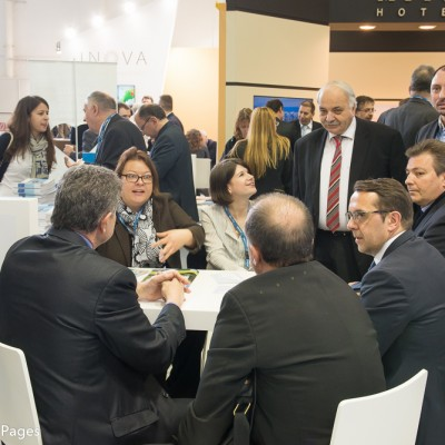 ITB Berlin 2015 meeting at the Ionian Islands stand