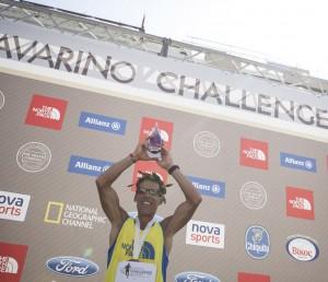 The 2014 Navarino Challenge marathon was led by Greek-American ultramarathon runner Dean Karnazes.