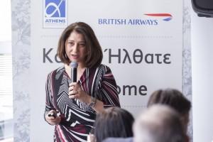 Freddie Stier, commercial manager of British Airways in Greece.