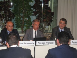 SETE President Andreas Andreadis. Photo © GTP