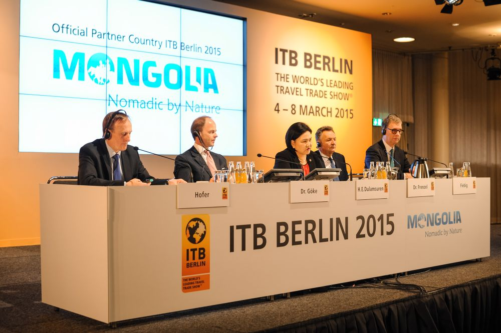 ITB Berlin opening press conference. Photo © ITB