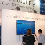 Virtual reality at the Region of South Aegean stand.