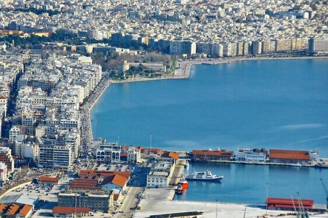 Thessaloniki Port. Photo © Facebook - ΟΙ ΟΜΟΡΦΙΕΣ ΤΗΣ ΕΛΛΑΔΑΣ ΜΑΣ