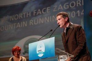 "2015 Tourism Awards - Vasilis Tzoumakas, general director of the North Face Zagori Mountain Running"" event. Photo credit: Loukas Hapsis."