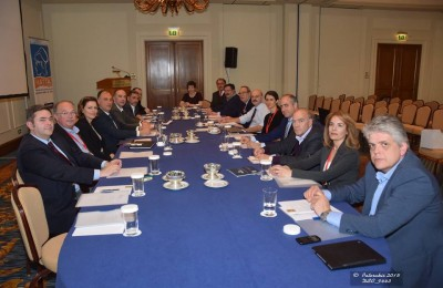 Board members of the new Federation of Greek Travel Agencies (Fed HATTA). Photo source: Paterakis