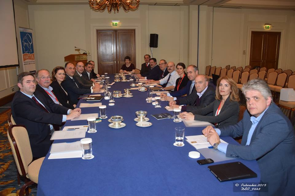Board members of the new Federation of Greek Travel Agencies (Fed HATTA). Photo source: Paterakis