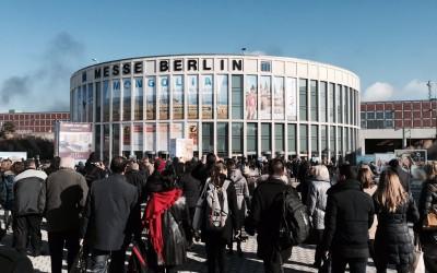 ITB Berlin 2015 busy entrance